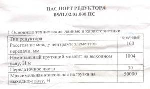 редуктор рчл 160х30 (млз)