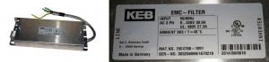 EMC-FILTER KEB INVERTER