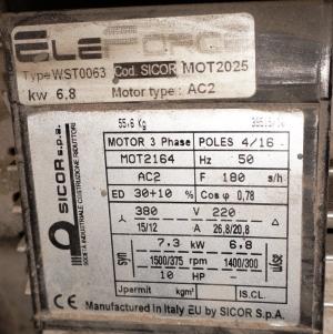 лебёдка лл 0621-13.22.00.000 sicor spa -mr14 (италия)