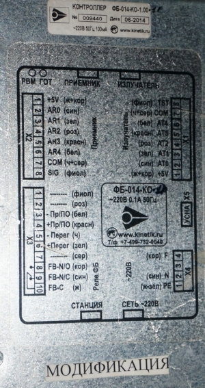 устройство фб-014 щлз