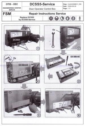 полупроводниковый преобразователь otis gba24350bh10 (semiconductor converter dcss5-e)