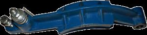 колодка-рычаг (лапы) тормоза (к-т.) в сборе на montanari 9101 (afpl30c13 / afpl11d13)  для редуктора montanari м 73/83