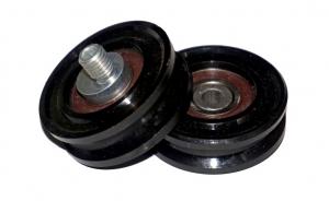 ролик 3201.05.0058 selcom (wittur) elevator door roller 43mm x 16mm /m12 эксцентрик