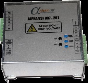 блок управления приводом дверей лифта technos alpha v3f 037-201