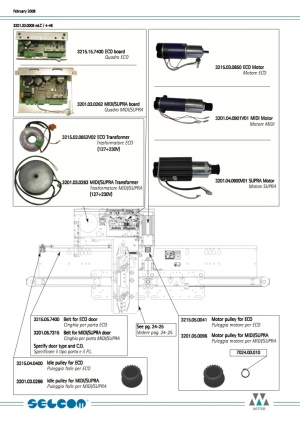 двигатель пдк wittur midi/supa dpm57bl74.d