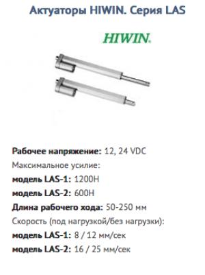 Актуатор LAS-1-1-150-24GE HIWIN
