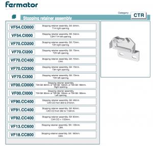 фиксатор fermator ctr.vf54.cd000