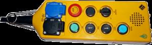пост ревизия пр-03 щлз пост ревизии 7-кнопочный с переговорным устройством, 2 розетки 220в и 36в в сборе с кабелем