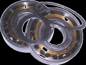 подшипник 66-412 к-т. (2шт., кольца) -венец (кмз) 160