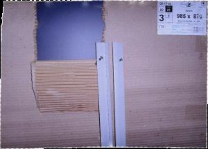 зеркало (985х870) установка (в кабину)
