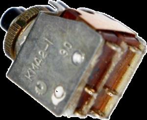 тумблер - кнопка км1-1, кмд2-1