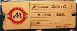 редуктор montanari-м83 (1/37)0414.22.00.000 / 0614.22.00.000 (без электромагнита) кмз 400-630кг. - 1,4м/с.-1,6м/с.