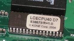 Плата KM773380G02 LCECPU40
