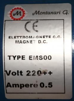 электромагнит mоntanari ems00