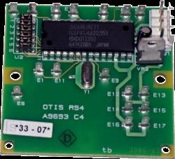 Плата (дистанционная станция систем управления) OTIS RS-4 A9693C4