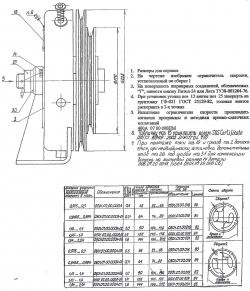 шкив ограничителя скорости 006-07-00-001 кмз