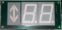 Указатель (плата) КЖИМ.469135.010-01 (модуль/панель приказа в кабине лифта)