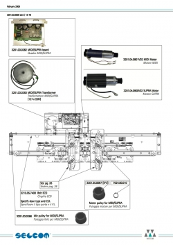 привод wittur дверей кабины hydra plus