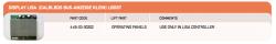 Плата Индикации LISA BUS LBDS-7