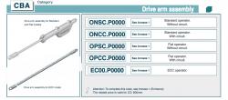 дверной оператор cba.oncc.p0000.0650 проем 650мм fermator