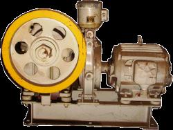 Лебёдка грузового лифта (старого образца) 500-1000кг. с хранения