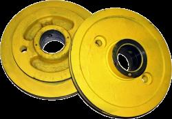 Шкив ограничителя скорости 0411.07.00.008 d-220 (230) мм трос d- 7,8 МЛЗ