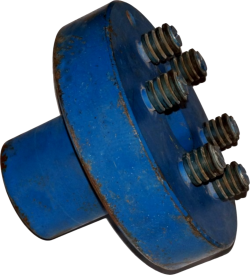 Полумуфта L-145 d-55 6пальцев