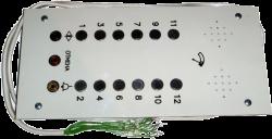 Панель (лифтёра) приказа ПЛП-К 12СП-01
