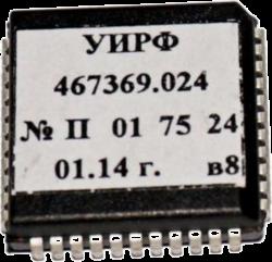 Процессор УЭЛ УИРФ 467369.024 не рег. привод