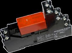 Реле SCHRACK RTE24024 / 24VDC (колодка YRT78626)