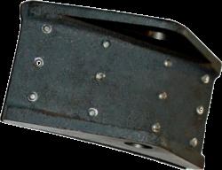 Колодка тормоза 404Н.22.22.300 (МЛЗ)