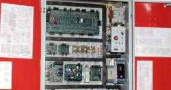 Модификации устройств управления лифтами серии УЛ           Обозначение  Условное обозначение  Применяемость устройства      Тип лифта  Ток расцепителя автомата QF1  Наличие вектилятора  Тип кабины      АЕИГ.656353.036–100.02  УЛ- 30П-102- УХJ14  Па