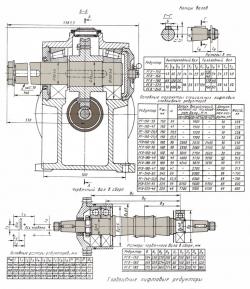 редуктор главного привода рч 160х52